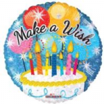 "MAKE A WISH BALLOON  18""  19538-18"